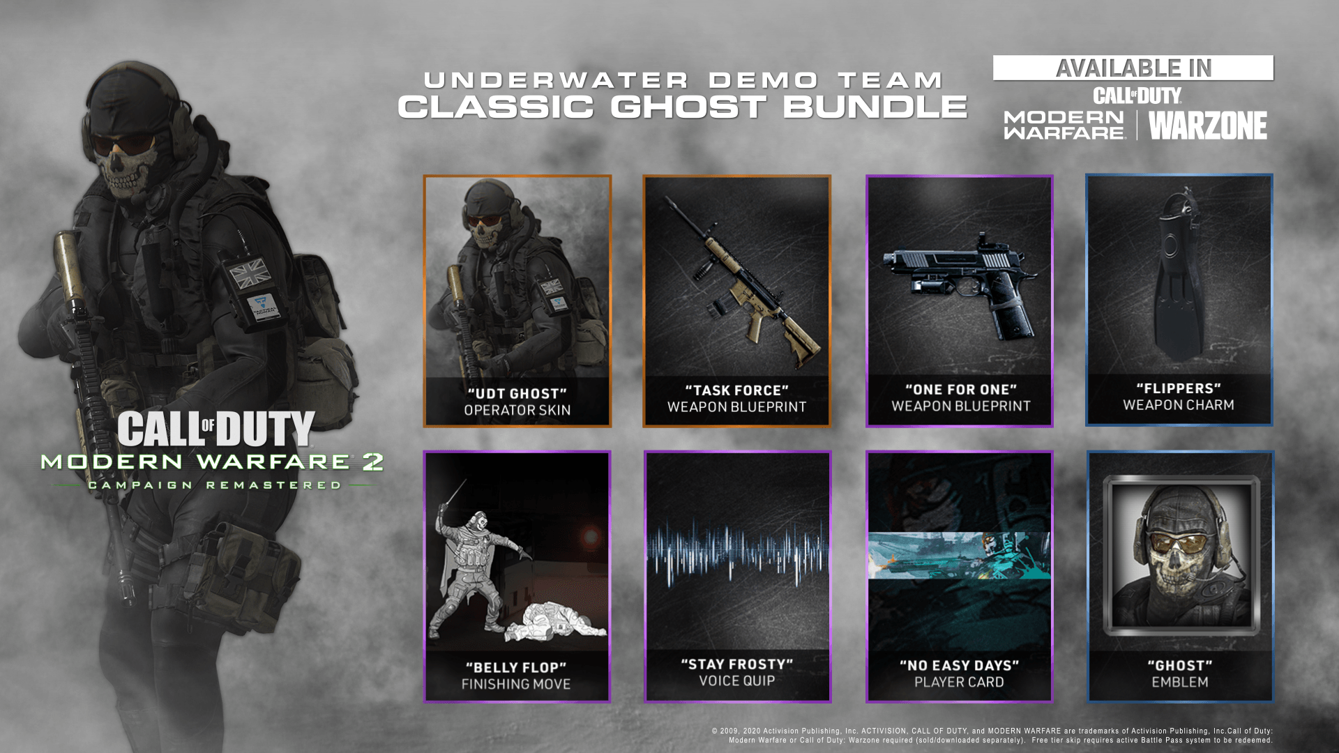 Udt Classic Ghost Bundle For Modern Warfare And Warzone