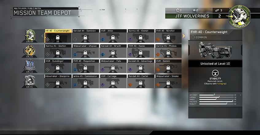 mission team depot