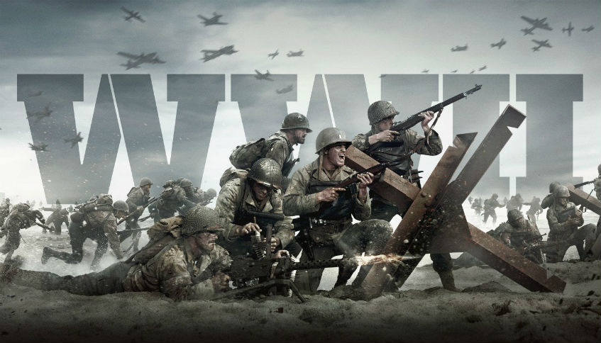 CALL OF DUTY WWII Head Quarters Reveal Trailer Has Hit