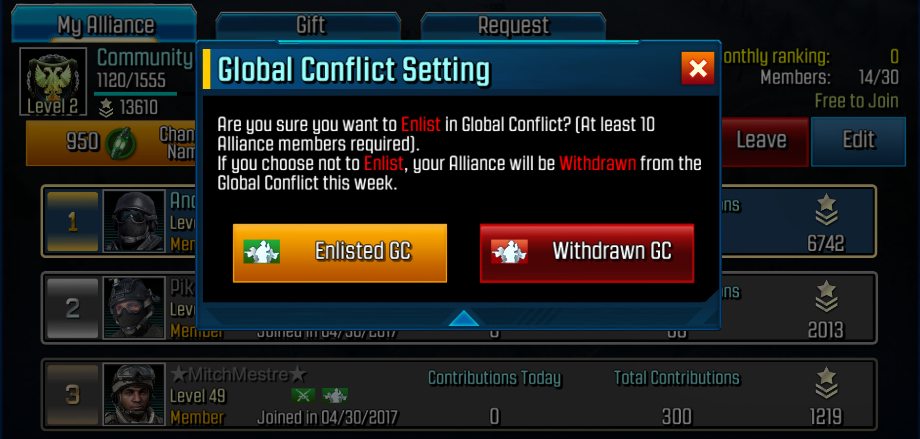 Global Conflict Image 1