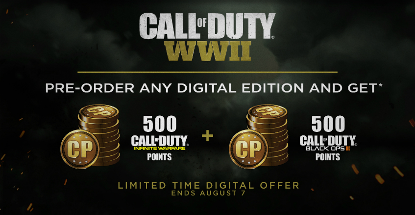 WWII CP Pre-Order Offer