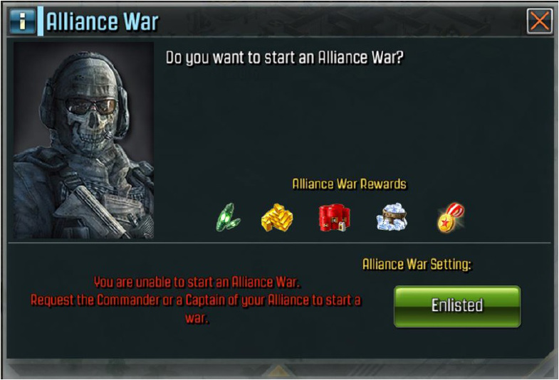 Alliance war 1