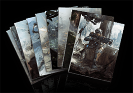 Specialist Concept Art Cards